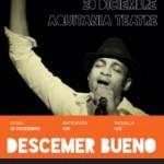 Descemer Bueno único concierto en Barcelona (20 de diciembre) Teatro Aquitania