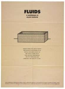 Kaprow 1967 Fluids mini