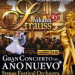 Johann Strauss, Gran Concert d'Any Nou (de l'1 de gener al 19 de gener) Palau de la Música
