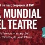 Assaig obert de la Jove Companyia del Teatre Nacional que presenta El Cantador de Serafí Pitarra (27 de març) TNC