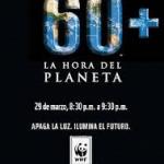 La hora del planeta, sábado 29 de marzo a las 20:30