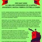 SANT JORDI MUSICAL A L'ANTIGA FÀBRICA ESTRELLA DAMM (23 d´abril)