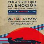 Terrazza Williams Martini Racing (del 8 al 11 de maig)