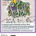 L'obra VARIACIONS, de Montserrat Butjosa, inaugura el V Cicle de Lectures Dramatitzades PRIMAVERA VACA 2014 (19 de juny)