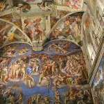 10 de mayo de 1508: en Roma, Miguel Ángel inicia la pintura de los frescos de la Capilla Sixtina.