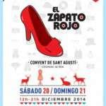 """9ª edición de  EL ZAPATO ROJO – """"Especial Navidad"""" (20 y 21 de diciembre) CONVENT DE SANT AGUSTI de Barcelona"""