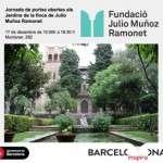 Portes obertes als jardins de la Casa de Muñoz Ramonet el 17 de desembre