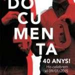 Festa d'aniversari 40 anys a la Llibreria Documenta ( 9 de gener)
