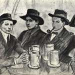 1 de Febrero de 1900: en la taberna modernista Els Quatre Gats (de Barcelona), el pintor Pablo Picasso realiza su primera muestra individual de dibujos