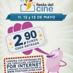 Fiesta del Cine : 11, 12 y 13 de Mayo por 2.90€ cada entrada.