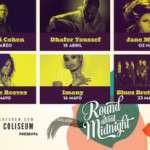CICLO ROUND ABOUT MIDNIGHT '15 EN EL TEATRO COLISEUM  ( a partir del 20 de marzo)