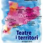 El teatre al territori català, està tan ben recolzat, com a la capital? (13 d´abril) Fundació Romea