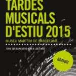 Tardes musicals d'estiu. Concert amb la Big Band del Centre Hamelin – Internacional Laie (09/06/2015) Museu Marítim de Barcelona