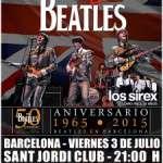 50 Aniversario Beatles en España – Sant Jordi Club – Barcelona 3 de julio de 2015 – Produce Grupo Due