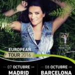 LAURA PAUSINI ACTUARÀ EL 8 D'OCTUBRE AL PALAU SANT JORDI DE BARCELONA, DINS DE LA SEVA GIRA SIMILARES EUROPEAN TOUR 2016