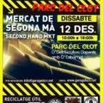 El 12 de Desembre nova edició Segona Ma en Parc del Clot.