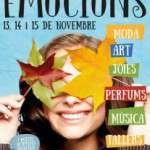 Sorli  Emocions con motivo de su primer aniversario organiza el evento social Emocions Market (del 13 al 15 de noviembre)