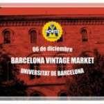 Barcelona Vintage Market (6 de diciembre)