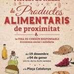 MERCAT DE NADAL de PRODUCTES ALIMENTARIS DE PROXIMITAT (del 18 de desembre al 4 de gener 2016)