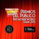 Ganadores de los PREMIOS DEL PÚBLICO BROADWAYWORLD SPAIN 2015