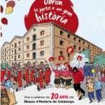 Obrim les portes a una gran història: celebrem els 20 anys del Museu d'Història de Catalunya (27 i 28 de febrer)