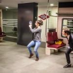 L'Institut del Teatre col·labora en una campanya de civisme al tren (de l'1 i al 7 de març)