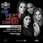 Elite Model Look España convoca a los jóvenes de Barcelona a participar en su casting para encontrar las new faces del 2016 en Diagonal Mar (30 de abril)