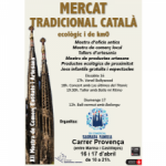 XII Mostra de Comerç, Entitats i Artesans (16 i 17 d'abril) Eix Comercial Sagrada Familia
