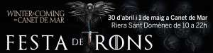 CANET DE MAR festa de trons LONA 2015