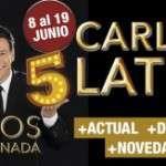 Carlos Latre torna amb 15 años no es nada, amb nous personatges (del 8 al 19 de juny) Teatre Coliseum