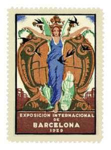 250px-Spain-Cinderella_Stamp-1929_Barcelona_Expo