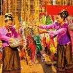 Songkran | Fiesta en el Arc de Triomf (22 de mayo)