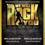 L'ESCOLA COCO COMIN presenta en el teatro BARTS una versión en concierto del musical WE WILL ROCK YOU (21 y 22 de junio) Entrada gratuita
