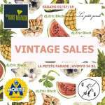 Vintage Sales (dissabte 2 de juliol)