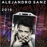 Alejandro Sanz, Sirope Vivo (divendres 8 de juliol) Palau Sant Jordi