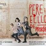 """SonarKids col·labora amb l'OSV i Brodas Bros per promoure el concert """"Pere i el Llop"""", de Serguei Prokòfiev, una proposta per a tota la família, un concert únic que s'estrenarà el proper 17 de setembre a les 19h en el singular entorn modernista del Palau de la Música Catalana."""