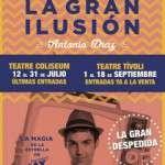 La gran ilusión – EL MAGO POP (del 1 al 18 de setembre)