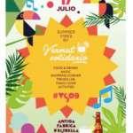 Vermut Solidario · Diumenge 17/07 · Antiga Fàbrica d'Estrella Damm