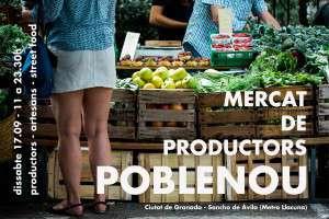 Cartel_Mercat de Productors Poblenou