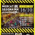 El 16 de Octubre celebramos nuestro 4º Aniversario! de ON the Garage en la Ovella Negra del Poble Nou,