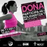 Barcelona s'omple de rosa per la Cursa de la Dona (6 de novembre)
