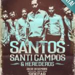 SANTOS Anuncian nueva Fecha en Barcelona (29 de diciembre)