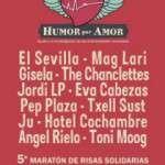 MAG LARI, EL SEVILLA, GISELA y THE CHANCLETTES actuarán en la 5ª edición de la gala HUMOR POR AMOR (12 de diciembre)