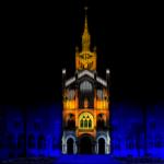 Mapping 'La llum de Sant Pau'  23, 24, 25, 26, 30 i 31 de desembre; 1, 5 i 6 de gener