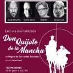 El pròxim dilluns 30 de gener la Fundació Romea per a les Arts Escèniques presenta la lectura dramatitzada Don Quijote de la Mancha de Miguel de Cervantes Saavedra