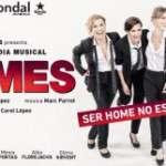 El 28 de febrer arriba al Teatre Condal Homes, la comèdia musical
