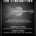 La banda irlandesa The Cranberries vuelve a los escenarios en 2017(4 y 5 de junio)