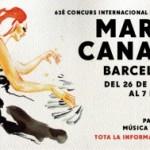Concurs Internacional de Música Maria Canals de Barcelona (MCB). Del 26 de març al 7 d´abril 2017