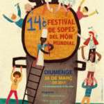 14è Festival de Sopes del Món Mundial!!!! 26 de març