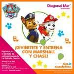 La Patrulla Canina visita por primera vez Diagonal Mar Shopping (del 21 al 23 de abril)